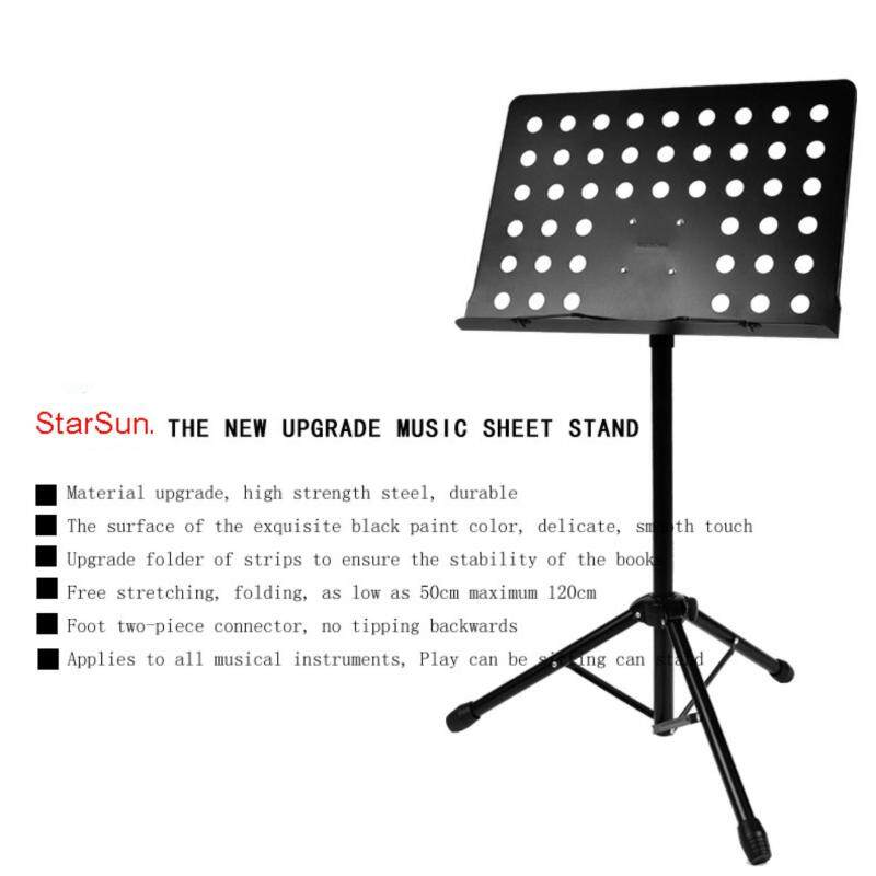Music-stand-heavy-duty Conductors Music Stand for Sheet & Book Music Food Menu Stand Malaysia