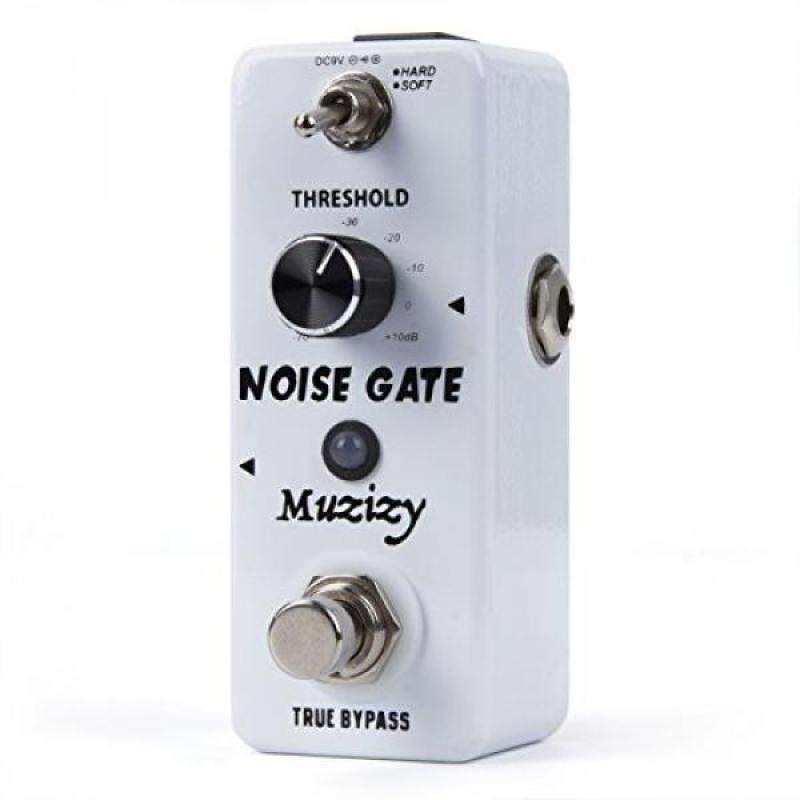 Muzizy Noise Killer Guitar Noise Gate Suppressor Effect Pedal - Mini Compact True Bypass Malaysia