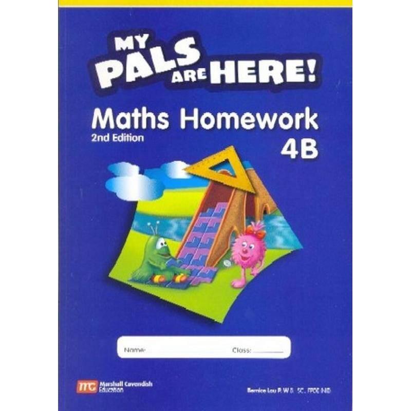 My Pals are Here Maths Homework 4B (2E) - ISBN: 9789810109370 Malaysia