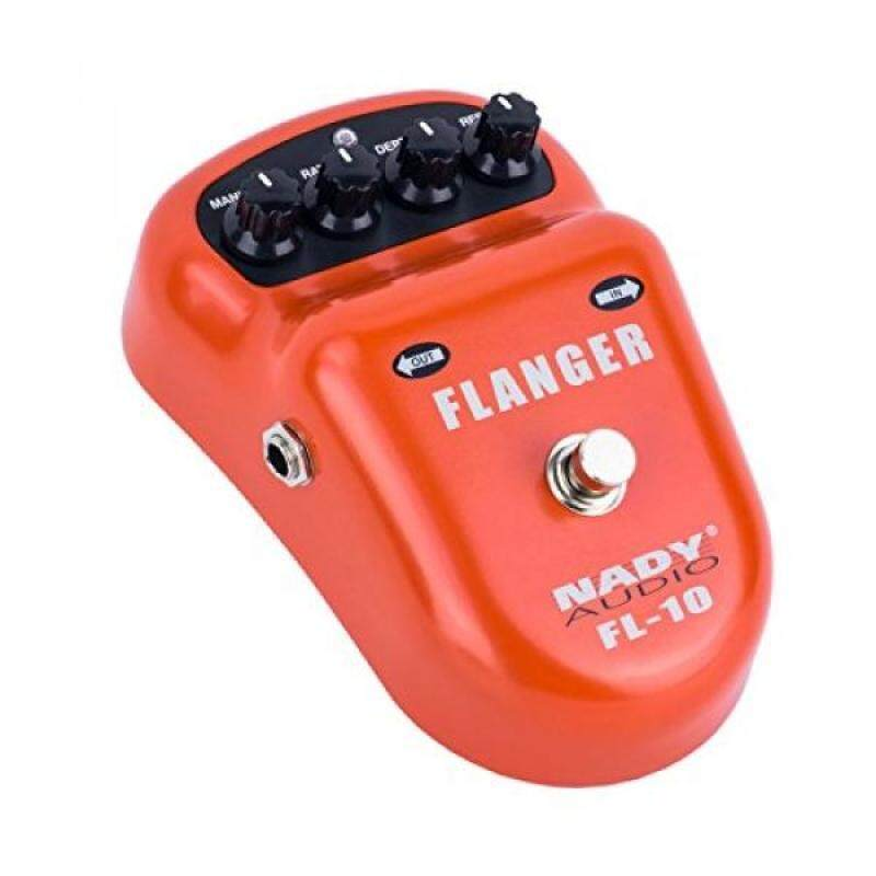 Nady FL-10 Flanger Pedal – Classic, warm & smooth guitar effects - Manual, Rate, Depth, and Resonance controls Malaysia