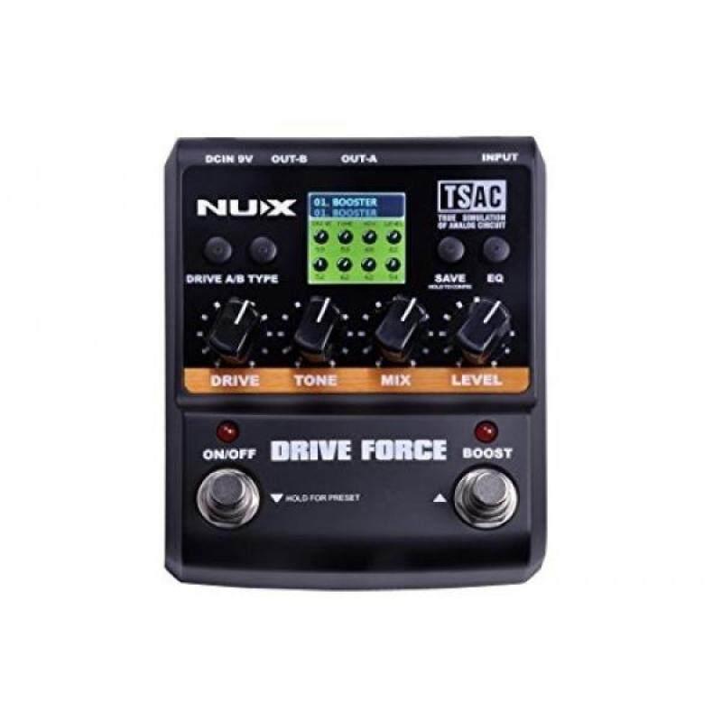 NUX Drive Force Modeling Stomp Simulator Electric Effect Pedals Malaysia