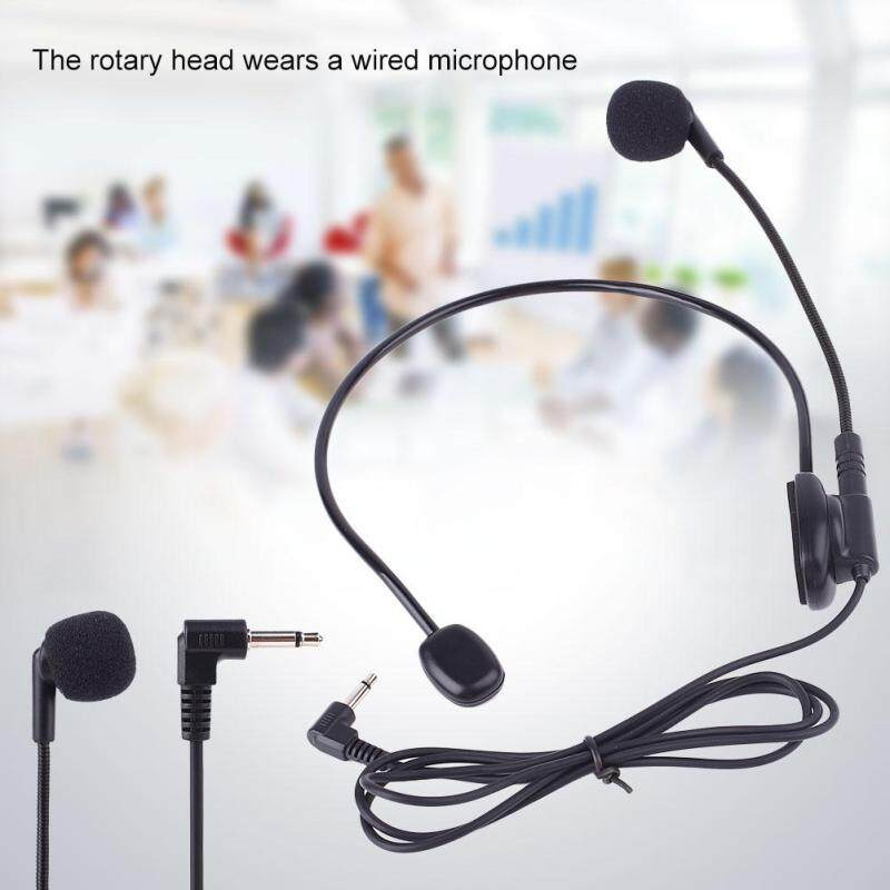 PerfectWorld Musical Instrument Accessories Wired Head Mounted Headworn Headset Microphone Mic Flexible Lightweight 3.5mm Malaysia