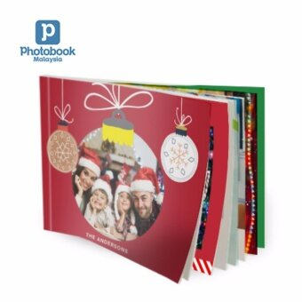 "Photobook Malaysia 11"" x 8.5\"" Medium Landscape Softcover Photo Book,40 Pages"
