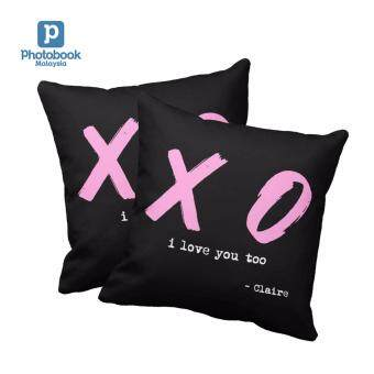 "Photobook Malaysia 16\"" x 16\"" Photo Pillow - Couple Set"