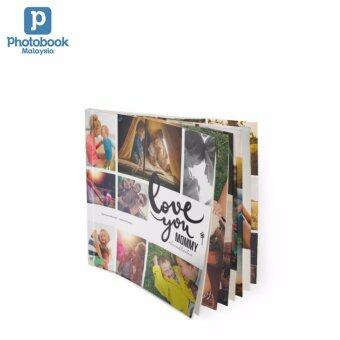 """Photobook Malaysia 6"""" x 6"""" Mini Square Softcover Photo Book, 40 Pages"""