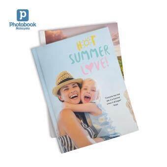 "Photobook Malaysia 8\"" x 11\"" Medium Portrait Imagewrap Hardcover Photo Book, 40 Pages"