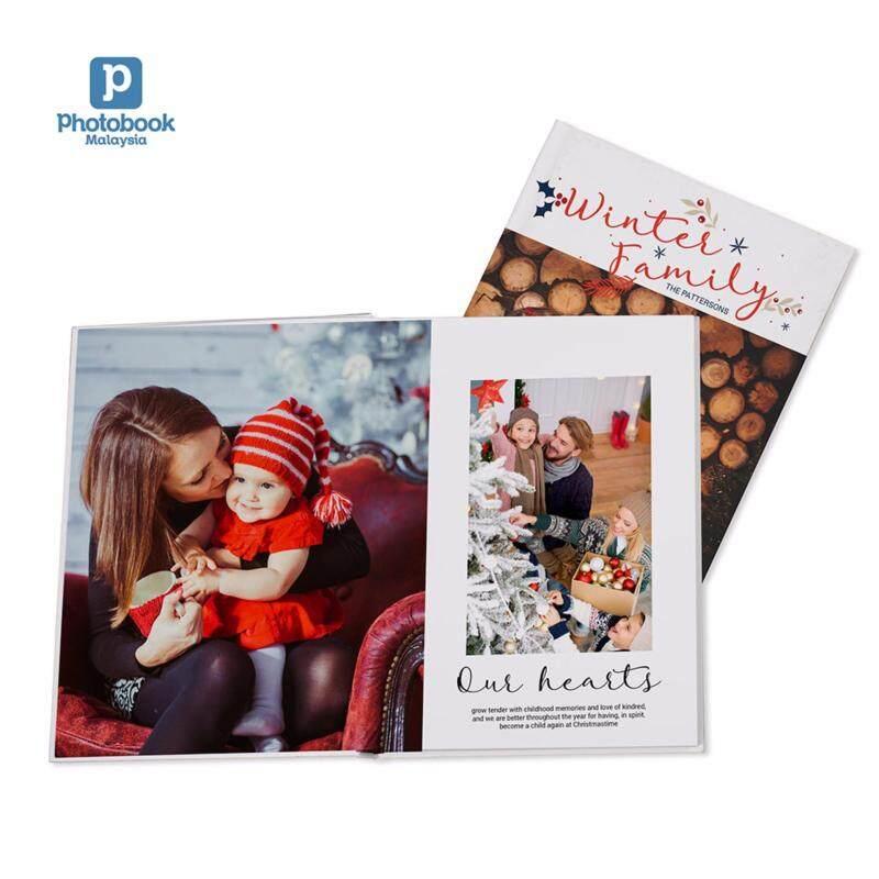 Photobook Malaysia 8 x 11 Medium Portrait Imagewrap Lay Flat Photo Book- 22+2 Pages Malaysia