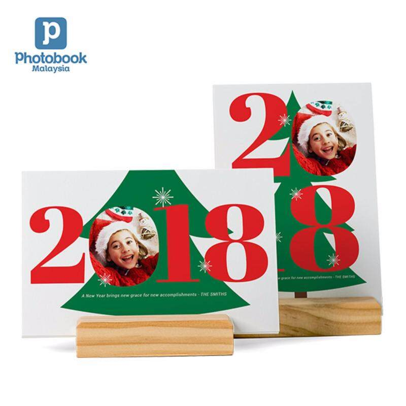 Photobook Malaysia Calendar Cards with Wood Stand Malaysia