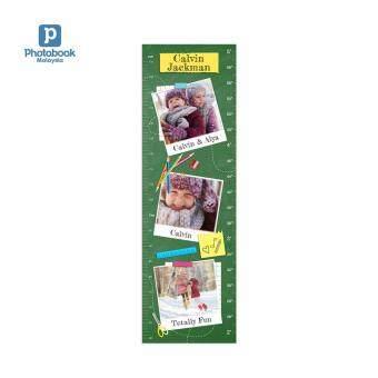 "Photobook Malaysia Kids Growth Chart 12\"" x 38\"""