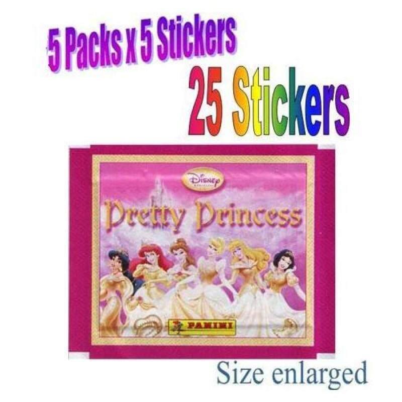 Pretty Princess Sticker Pack (5 packs = 25 stickers) Malaysia