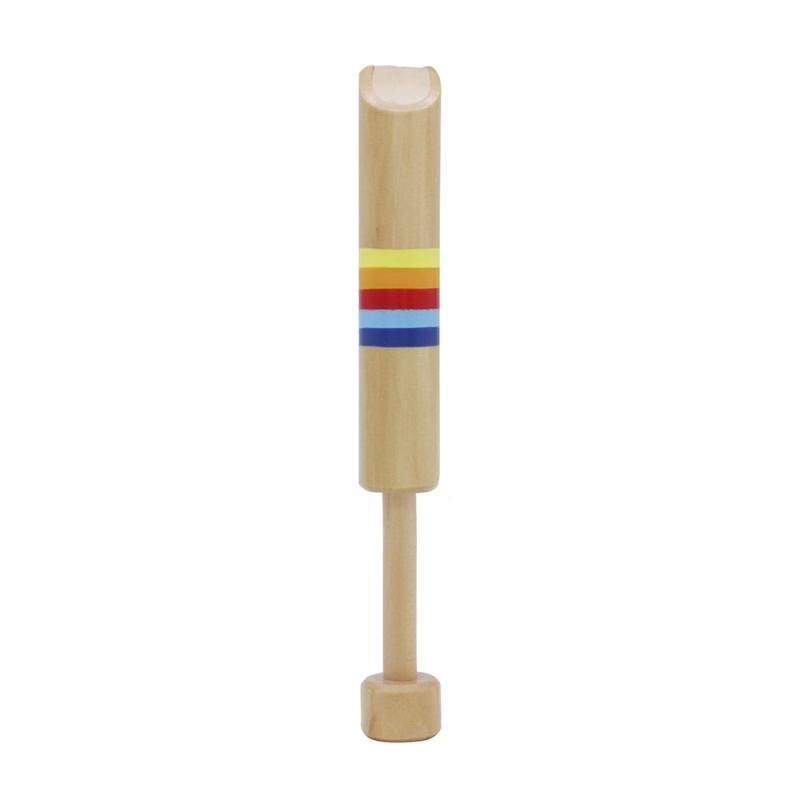 Push & Pull Wooden Fipple Flute Whistle Musical Instrument Toy Gift for Kids Children Boys Girls Malaysia
