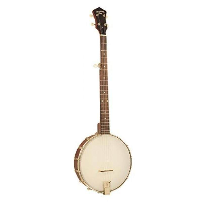 Recording King RKOH-05E Dirty 30s Open-Back Banjo with Pickup Malaysia