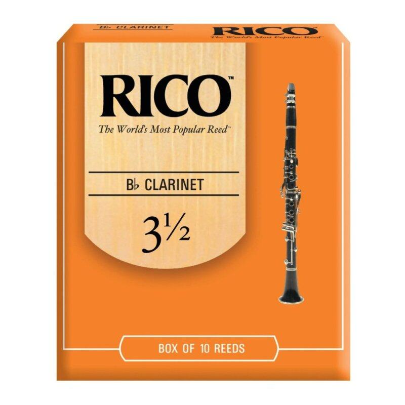 Rico Bb Clarinet Reeds 3.5 (10/pack) Malaysia