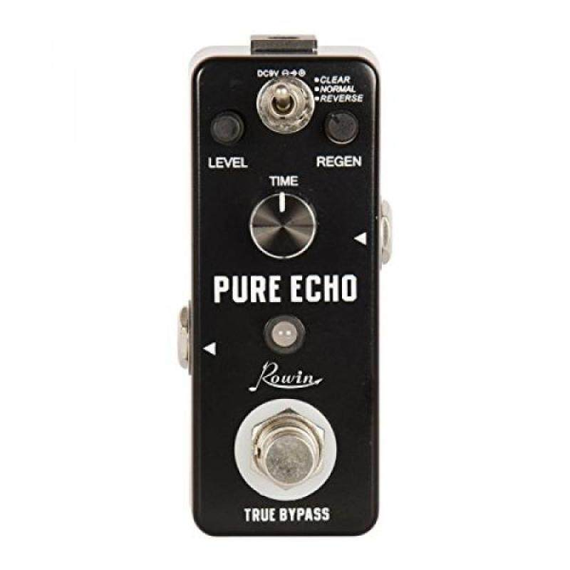 Rowin Digital Delay Guitar Effect Pedal Pure Echo with Clear Normal Reverse Function Malaysia