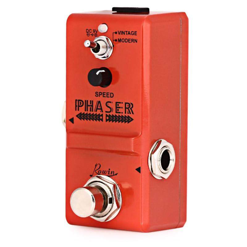ROWIN LN - 313 Analog Phaser Guitar Effect Pedal True By Pass for Musical Instrument Malaysia