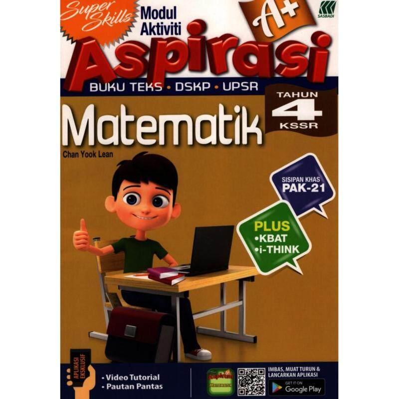 SASBADI Super Skills Modul Aktiviti Aspirasi A+ Matematik Tahun 4 KSSR Malaysia