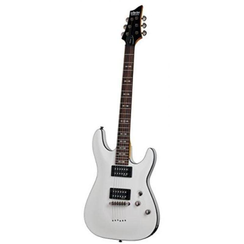 Schecter OMEN-6 6-String Electric Guitar, Vintage White Malaysia