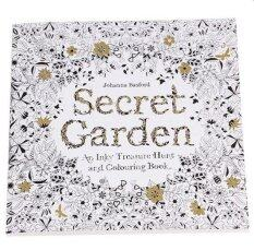 Set Of 5 Secret Garden An Inky Treasure Hunt And Coloring Book English 24 Pages