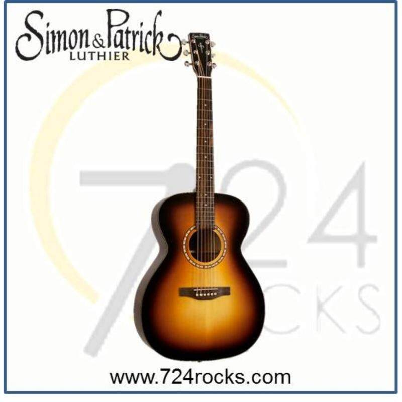 Simon & Patrick Canada Songsmith Concert Hall Solid Top Acoustic Guitar Malaysia
