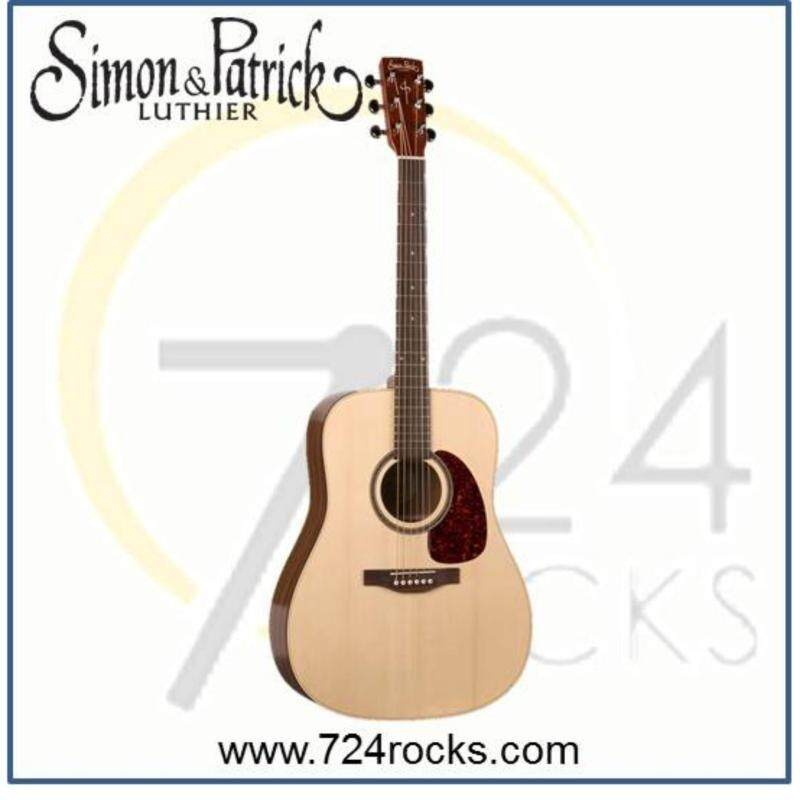 Simon & Patrick Canada Woodland Pro Spruce Full Solid Acoustic Guitar Malaysia