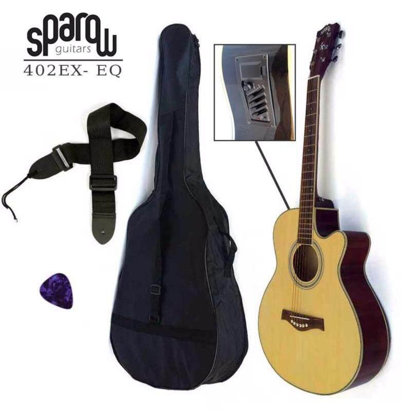 Sparow SP402Ceq Acoustic 40 Guitar Natural (FOC Non-Padded Bag & 1xPick) Malaysia