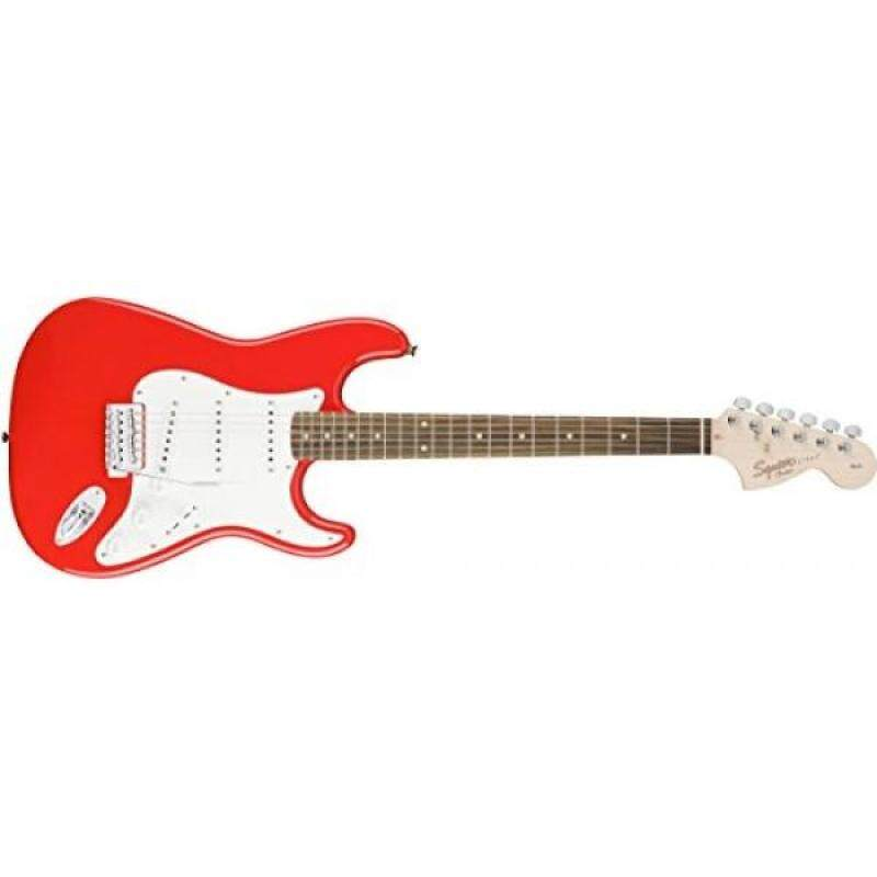 Squier by Fender Affinity Stratocaster Beginner Electric Guitar - Rosewood Fingerboard, Race Red Malaysia