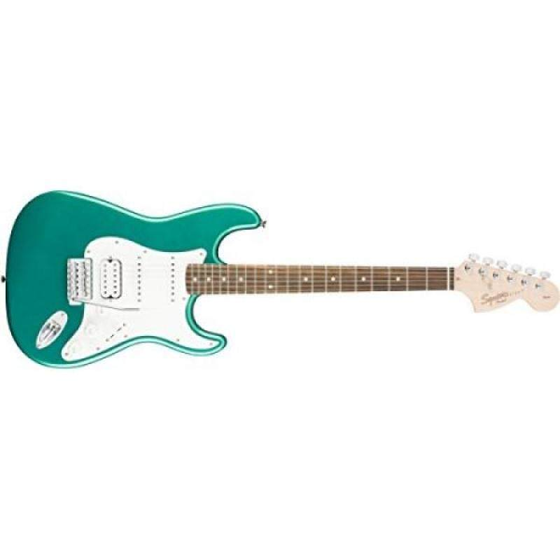 Squier by Fender Affinity Stratocaster HSS Beginner Electric Guitar - Rosewood Fingerboard, Race Green Malaysia