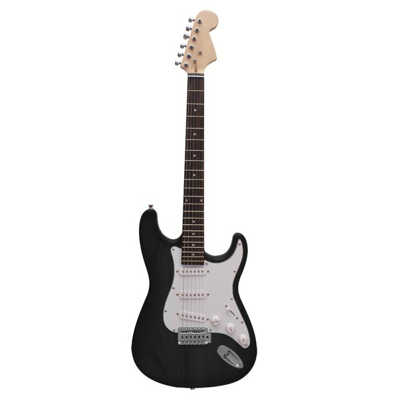 ST Electric Guitar Basswood Body Rosewood Fingerboard with Gig Bag Picks Strap Malaysia