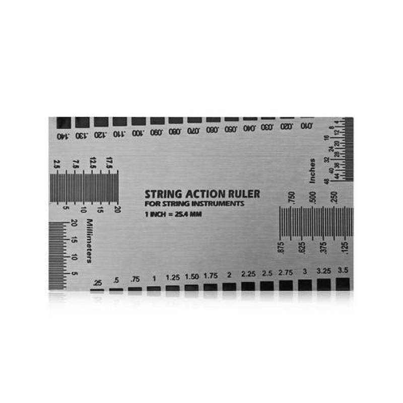 Stainless Steel String Action Ruler Instrument Spare Part Malaysia