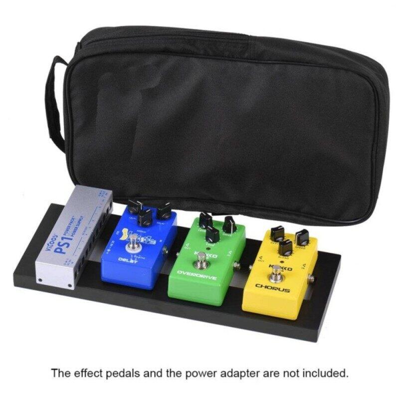 StarSun DP-01 Mini Aluminum Alloy Guitar Pedal Board with Carrying Bag Tapes Malaysia