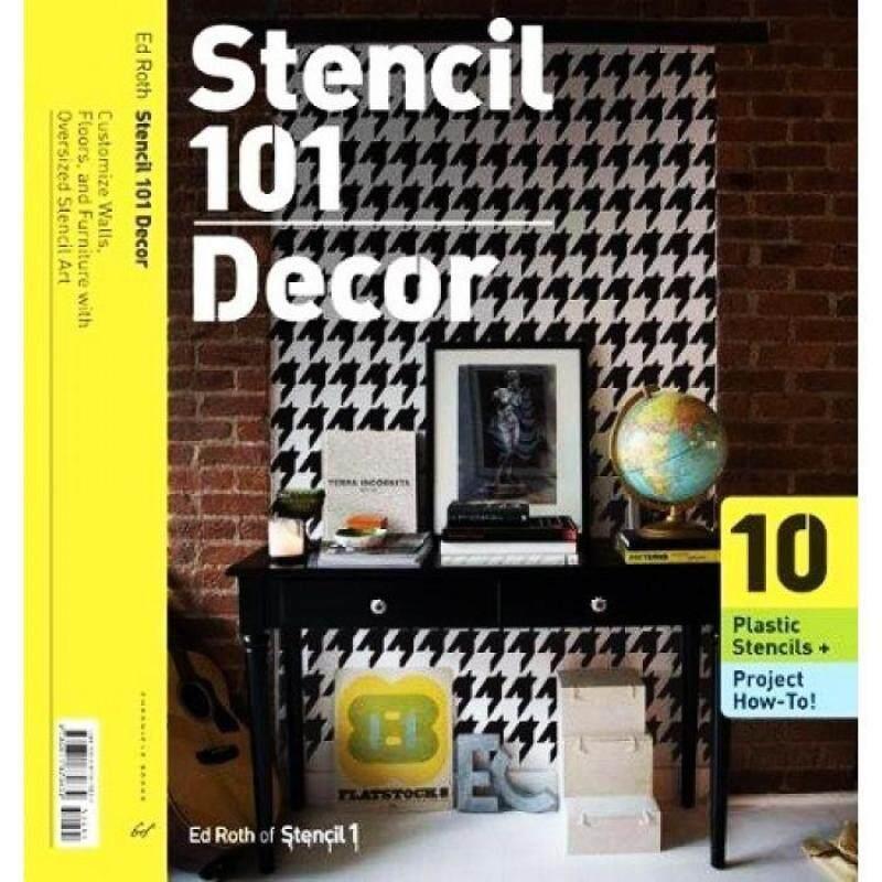Stencil 101 Decor 9780811870832 Malaysia