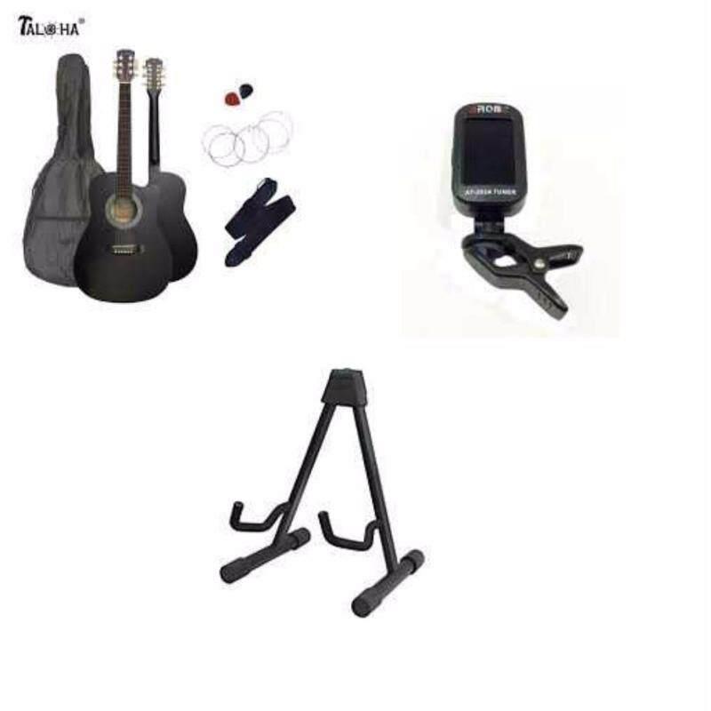 Tahola Acoustic guitar 38 FREE Guitar Bag + 2 picks + Digital Tuner + Stand + String + Strap Malaysia