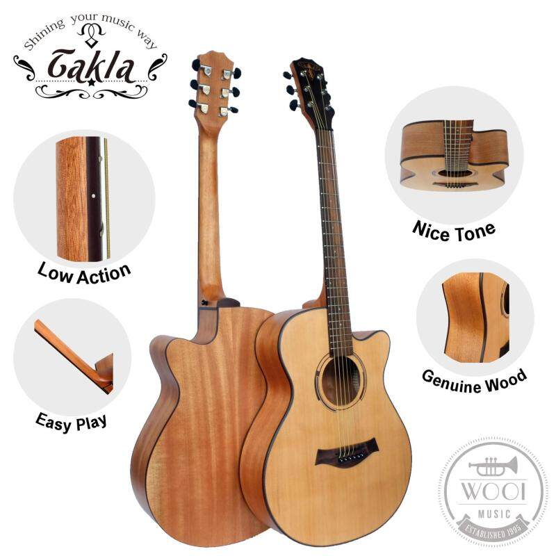 Takla M120 Acoustic Guitar 40 (Quality) Malaysia