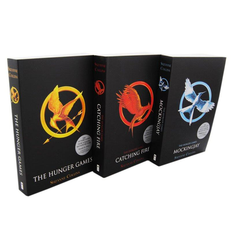 The Hunger Games (3-book set pack) Malaysia