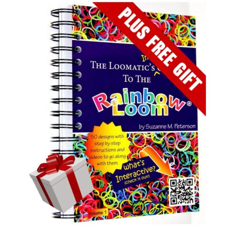 The Loomatics Interactive Guide to the Rainbow Loom by Suzanne M. Peterson Malaysia