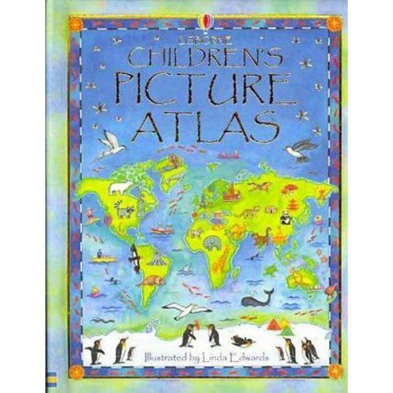 The Usborne Childrens Picture Atlas: Miniature Edition Malaysia