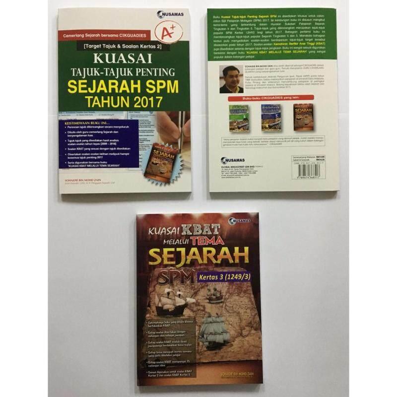 Topbooks Collection - Sejarah SPM Series 1 Malaysia