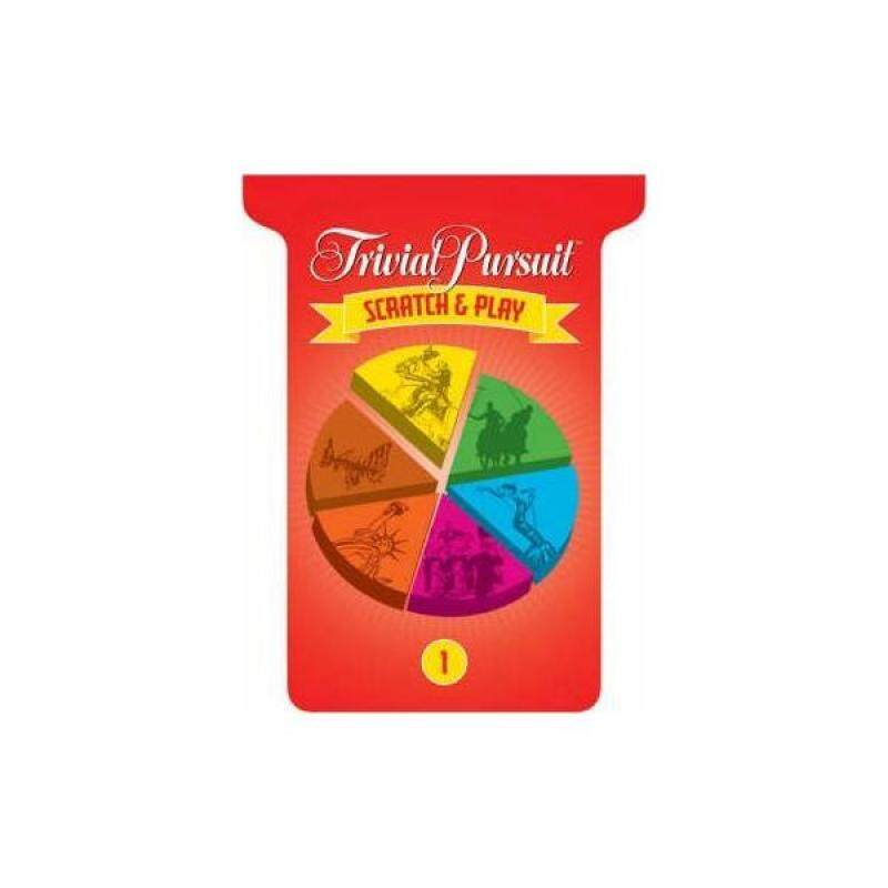 Trivial Pursuit Scratch and Play: No. 1 Malaysia