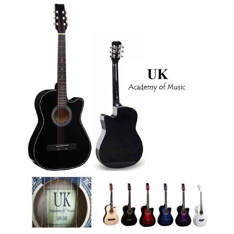 UK Acoustic Guitar 38 Inch (Black) Malaysia