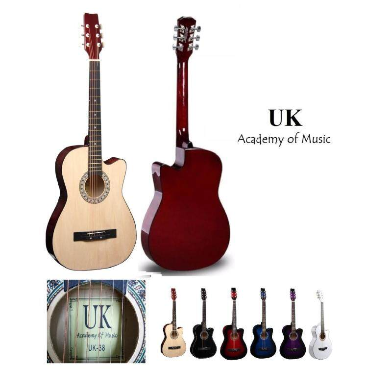 UK Acoustic Guitar 38 Inch (Natural) Malaysia