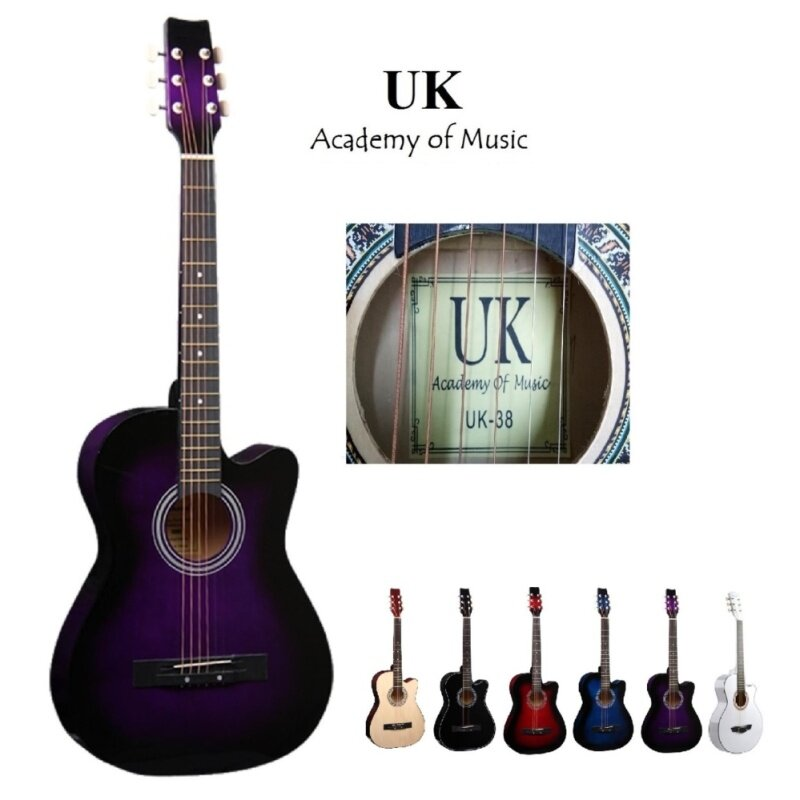 UK Acoustic Guitar 38 Inch (Purple) Malaysia