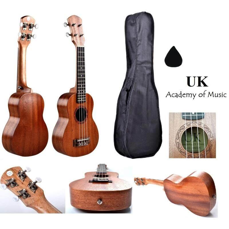 UK Soprano Ukulele 21 Inch Professional Sapelle Wood With Free Ukulele Bag and Ukulele Pick Malaysia