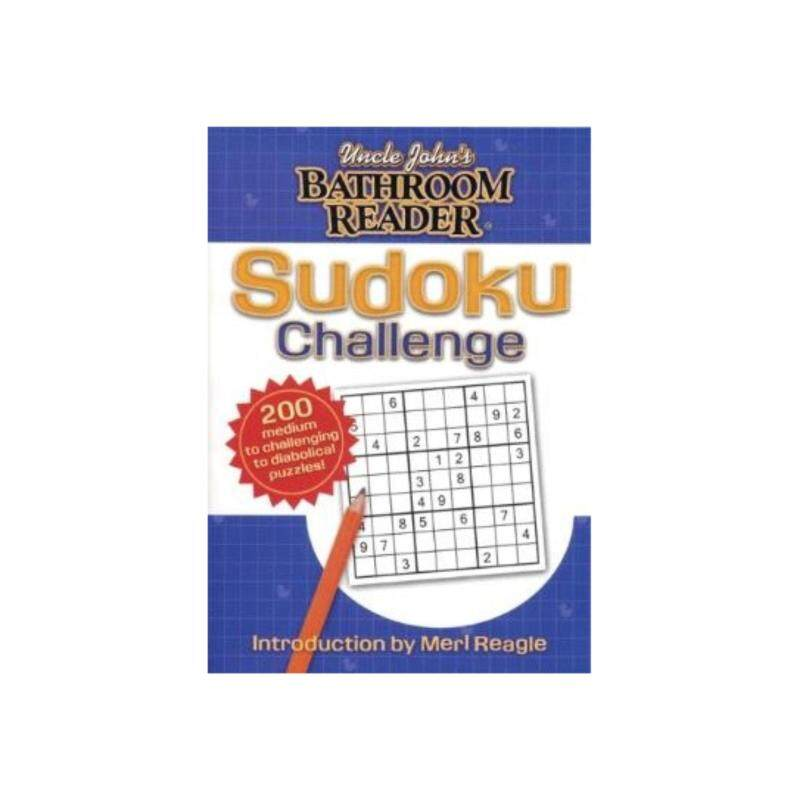 Uncle Johns Bathroom Reader Sudoku Challenge : ISBN: 9781592236886: Author by: Bathroom Readers Institute Malaysia