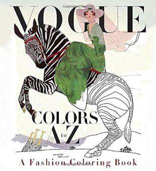 Vogue Colors A To Z Fashion Coloring Book