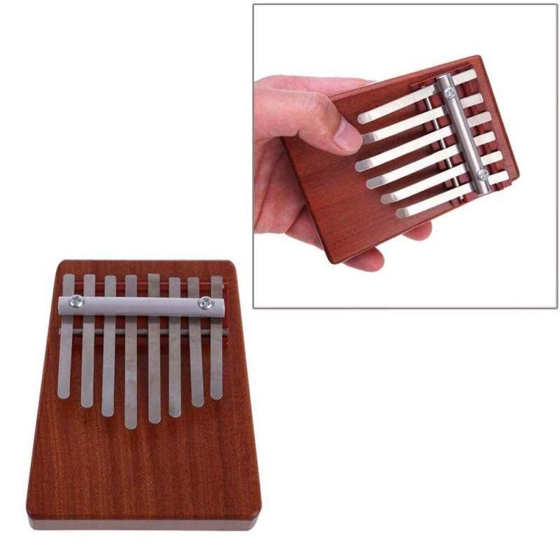 woowof 8 Key Finger Piano Kalimba Mbira Likembe Sanza Thumb Piano (Red) Malaysia