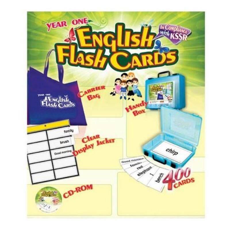 Year One English Flash Cards Malaysia