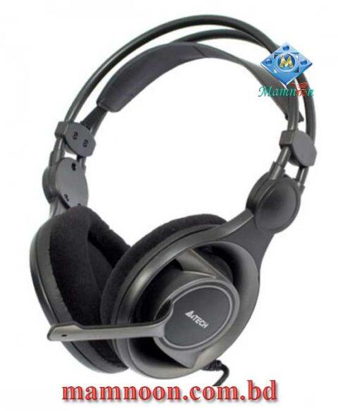 A4tech HS-100 Stereo Gaming Headphone With Mic