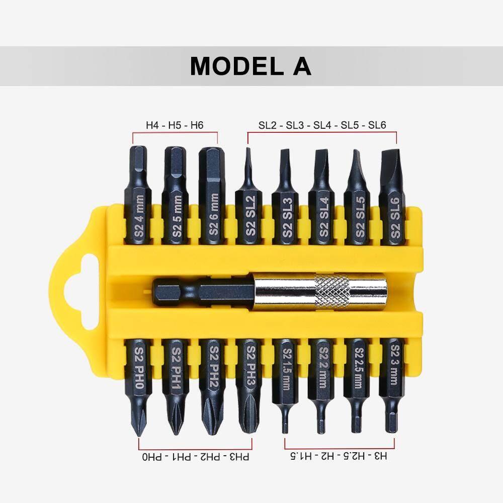 17 Pcs Electric Security Proof Torx Hex Star Bit Set Magnetic Holder Screwdriver