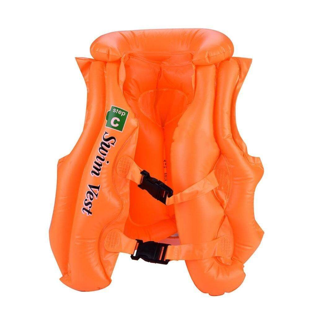 Festive & Party Supplies Summer Children Inflatable Swimming Life Jacket Buoyancy Safety Jackets Boating Drifting Lifesaving Vest Life Waistcoat 3 Colors