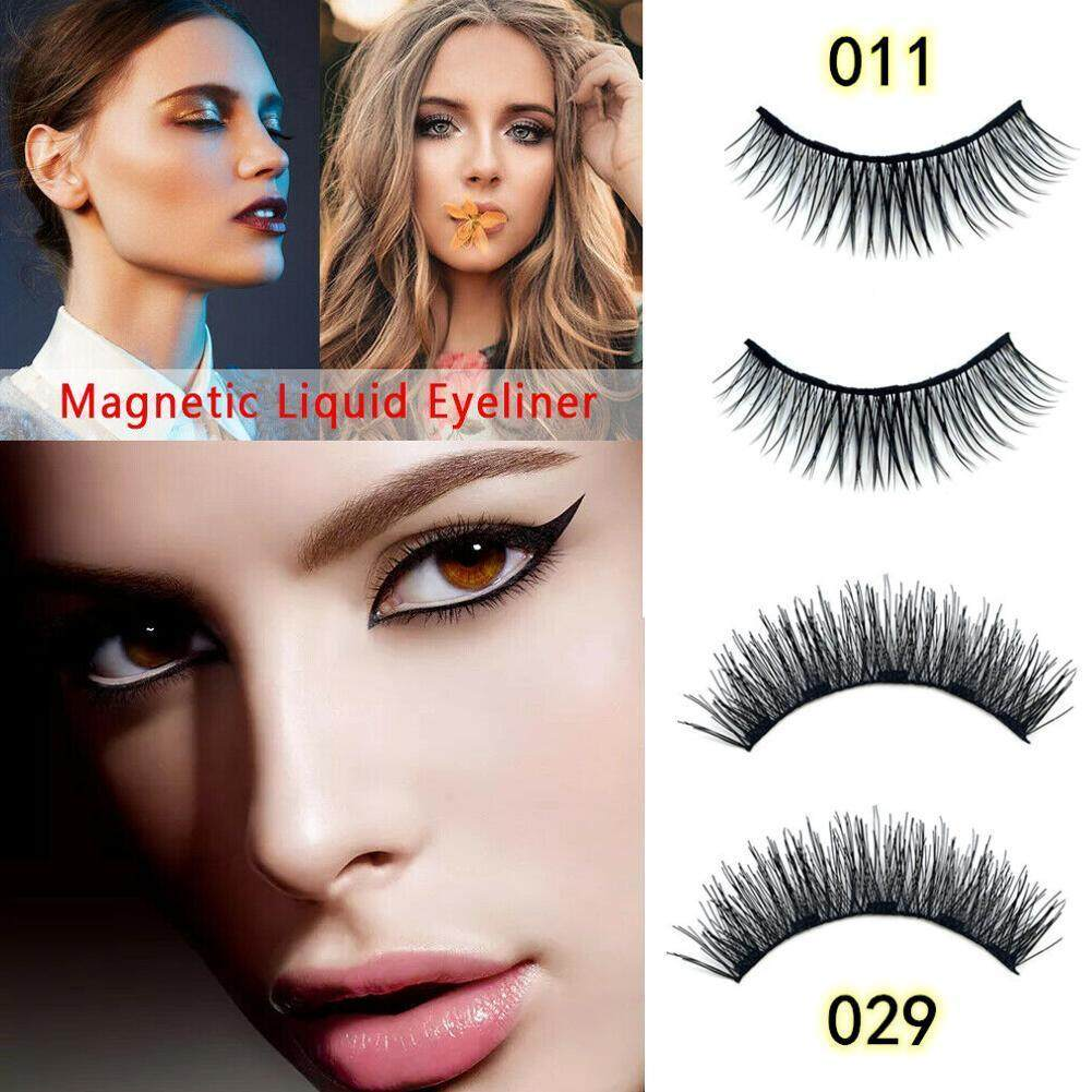 d2a8543d428 Specifications of New Magnetic Liquid Eyeliner with Five Magnetic False  Eyelashes Waterproof Natural Easy to Wear Makeup Tool Magnet Lashes Set